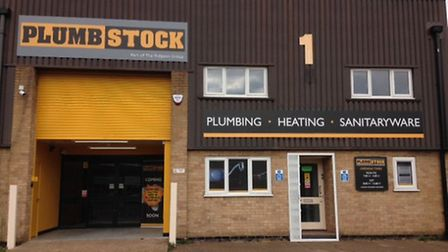 The new Plumbstock trade counter, launched by timber and builders merchant group Rigeons in Bury St