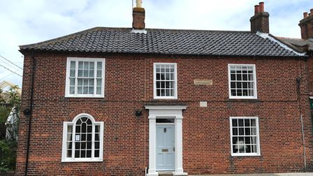 Montague House in Southwold, where the Blair family once lived