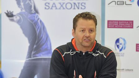 Two-time Olympian Anthony Clarke as named his line-up for Suffolk Saxons' first home fixture