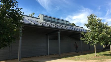 Sutton Hoo has installed 172 high-efficiency photovoltaic (PV) modules on the roof of the visitor ce