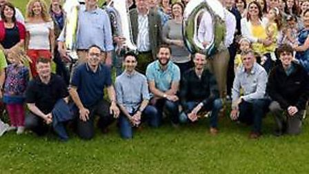 Staff and their families celebrated Prettys 110th anniversary with a summer garden party.