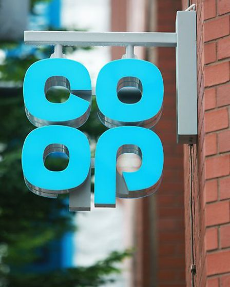 General view of the newly refurbished Coop Food Store on Balloon Street, Manchester.