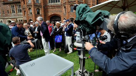 The Antiques Roadshow, here being being filmed at Layer Marney Tower in Colchester in 2011, will be