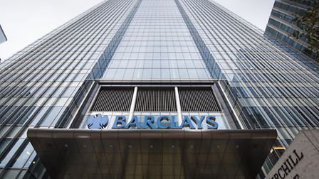 Barclays Bank's UK headquarters, in Canary Wharf, London, as the US Department of Justice (DoJ) has