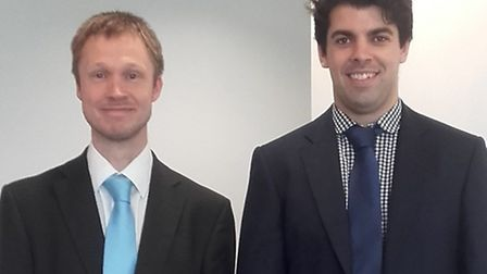 Dominic Carter and Andy McAlister of Grant Thornton.
