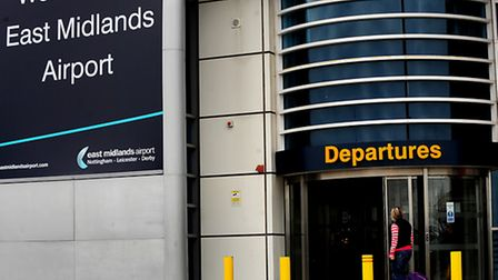 East Midlands airport, near Derby. Photo: Rui Vieira/PA Wire