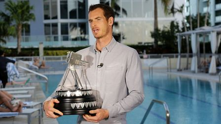 Andy Murray speaking via video link after winning the 2016 Sports Personality of the Year Award at T