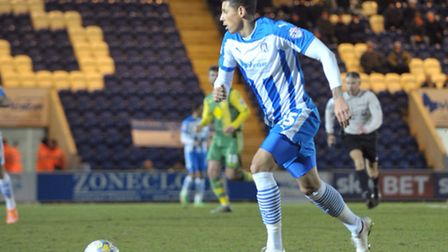 Matt Briggs, set to play for Colchester United Under-23s against Manchester City tonight
