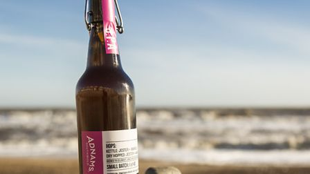 Jonathan Adnams, chairman of Southwold brewer Adnams, has brewed a special beer, pictured, to celebr