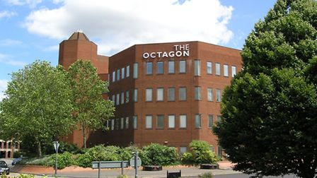 The Octagon in Colchester, where travel management company Gray Dawes is based.