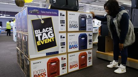 Black Friday deals at one of Dixons Carphone's combined three in one Currys, PC World and Carphone W