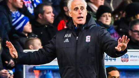 Ipswich Town manager Mick McCarthy. Picture: Steve Waller www.stephenwaller.com