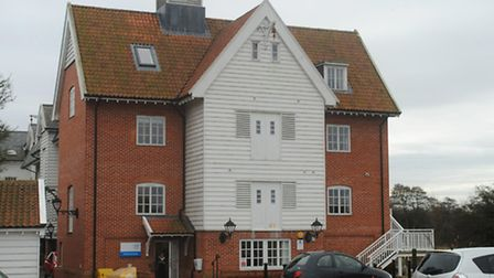 The current home of East and West Suffolk CCG, Rushbrook House.