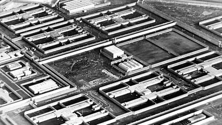 The Maze Prison in Northern Ireland where Laurence McKeown was held. Photo: PA