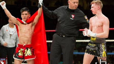 Chan Kai Tik was named the winner of his fight with Joe Le Maire in Las Vegas