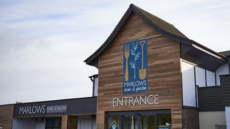 The new-look Marlows store in Bury St Edmunds, featuring the company's new branding.
