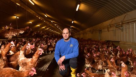 Alaistaire Brice, owns Havensfield Happy Hens and is a free range egg producer.DEFRA have placed a 3
