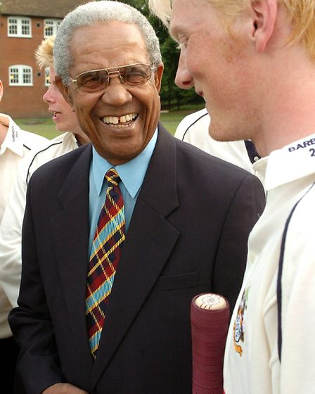 Sir Garfield (or Gary, or Garry!) Sobers is Bob Cattell's favourite sportsman of all time. He's spea