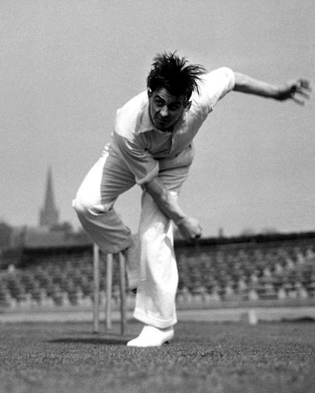 The late Fred Trueman, another of Bob Cattell's heroes. Photo: PA