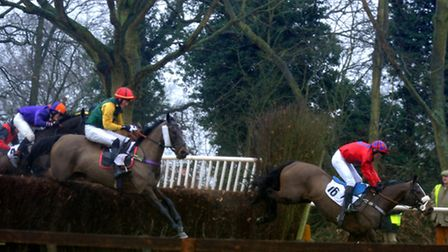 The first race on the card - the Ten-Year-Olds and Over East Anglian Area Club Members Conditions Ra