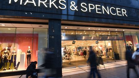 Marks & Spencer in Oxford Street, London. Photo: Charlotte Ball/PA Wire