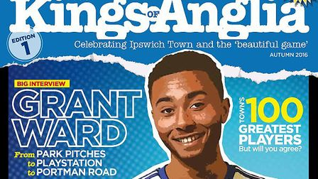 Our Ipswich Town magazine Kings of Anglia