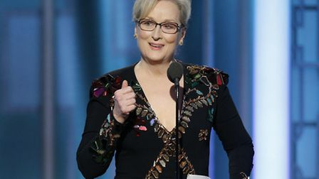 The 74th Golden Globe awards. Photo by: Paul Drinkwater/NBC
