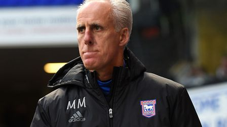 Ipswich Town manager Mick McCarthy at Portman Road for the FA Cup match with Lincoln City. Photo: PA
