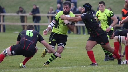 Bury's Ben Turner is unable to play against parent club, Taunton Titans