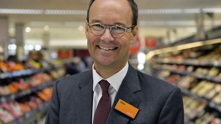 Mike Coupe, chief executive of Sainsbury's.
