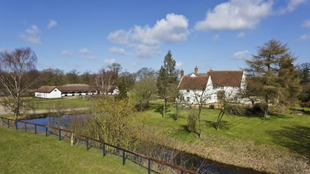 St Clare Hall Farm, near Bury St Edmunds had a guide price of �2,425,000 and, after 30 viewings, sol