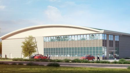 Plans have been submitted for Suffolk Park, Bury St Edmunds including a new headquarters for Treatt