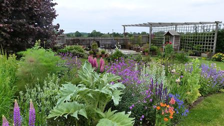 Look at other people's gardens to get an idea of the styles, layouts and planting schemes you do – a