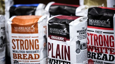 East of England Co-op Producer of the Year awards shortlisted supplier Marriage's flour.