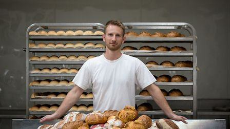 East of England Co-op Producer of the Year awards shortlisted supplier Nick Henry of Krusty Loaf.