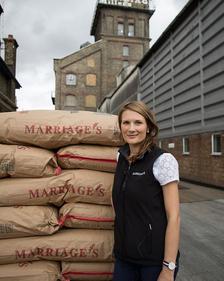 East of England Co-op Producer of the Year awards shortlisted supplier Hannah Marriage of Marriage's