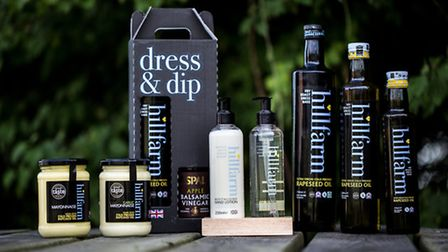 East of England Co-op Producer of the Year awards shortlisted supplier Hillfarm Oils range of produc