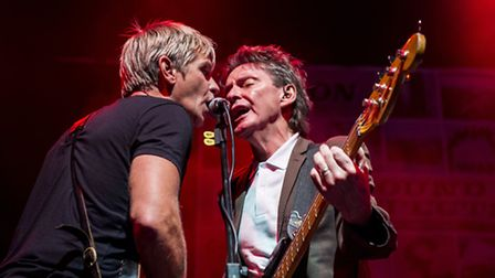 From The Jam, featuring Bruce Foxton and Russell Hastings, head to Bury St Edmunds this month. Photo