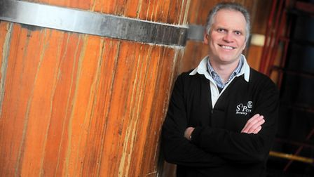 Steve Magnall, chief executive at St Peter's Brewery.