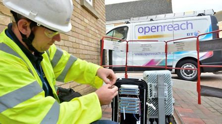 Openreach engineers are scheduled to repair the