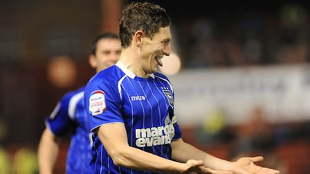 Keith Andrews in action for the Blues