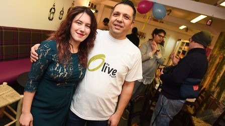 Fatema Kattan, and her husband Abdul Kattan are opening up a Syrian café in Wivenhoe. As part of it,