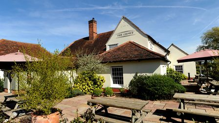 The Crown at Stoke-by-Nayland.