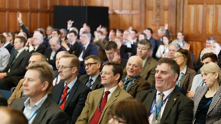 Delegates at the Oxford Farming Conference 2017.