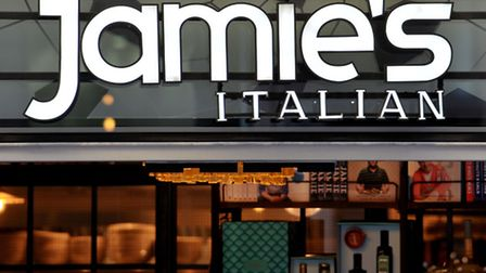 Jamie's Italian restaurant in central London. Photo: Nick Ansell/PA Wire