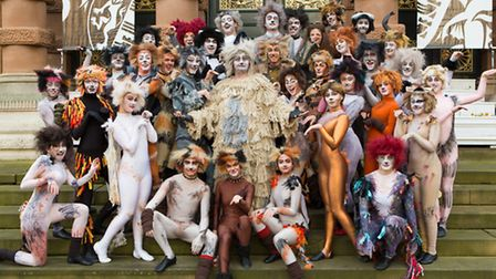 The Children's Theatre Company Ipswich stage Cats at The Apex, Bury St Edmunds. Photo: Mike Kwasniak