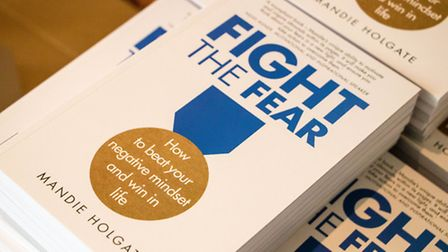 Mandie Holgate's book, Fight the Fear