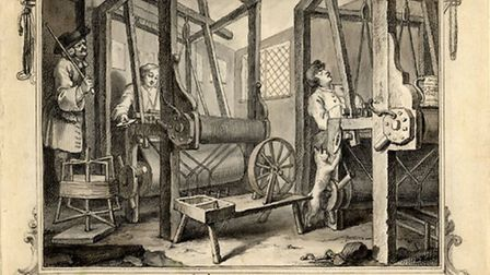 Artist William Hogarth produced a series of 18th Century prints, Industry and Idleness, that showed