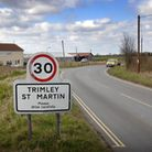 Land off Kirton Road (behind the buildings) has been earmarked for a 300-acre port business park bet