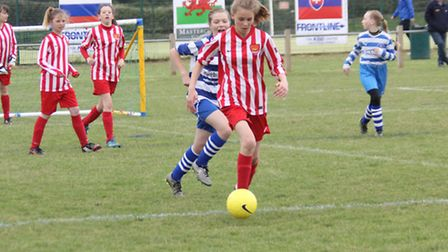Girls' football is a major focus for Suffolk FA in 2017